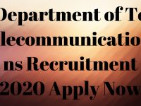 Department of Telecommunications Recruitment 2020 Apply Now