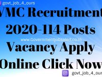 VMC Recruitment 2020-114 Posts Vacancy Apply Online Click Now