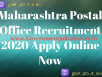 Maharashtra Postal Office Recruitment 2020 Apply Online Now