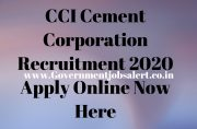 CCI Cement Corporation Recruitment 2020 Apply Online Now Here