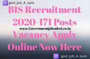 BIS Recruitment 2020-171 Posts Vacancy Apply Online Now Here